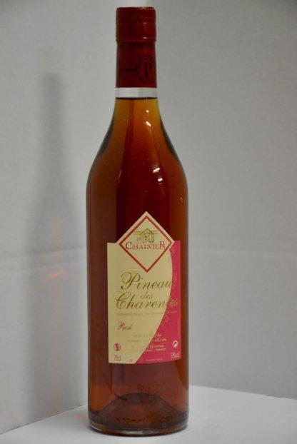 Bouteille de Pineau rosé